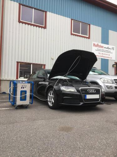 Audi engine carbon cleaning