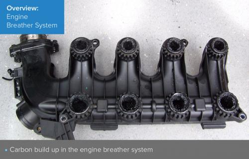 Engine breather system